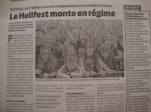 L' édition du 21 juin de Presse Océan.