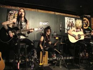 Blackrain, FNAC Toulouse, une date et une tournée importantes