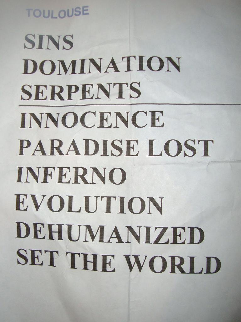 Symphony domination paradise lost