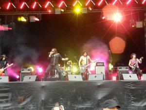 ELECTRIC MARY : Une journée classic hard rock qui débute parfaitement !