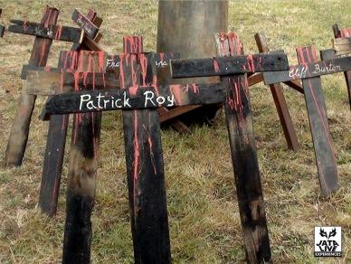 Les croix hommages du carré Presse ...