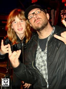 Jimmy et Raph , notre ami de Mass Hysteria.