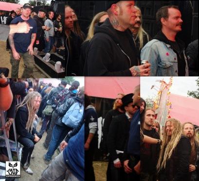 Devant Jimmy, un défilé d'artistes acclament la troupe à Halford !