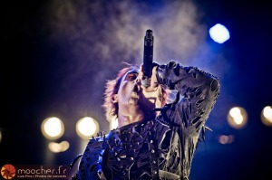 CRADLE OF FILTH : Dani donne de la voix...