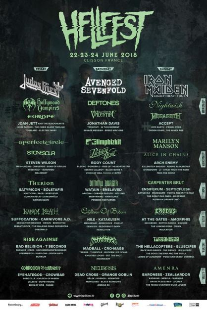 HELLFEST 2018 DAY BY DAY