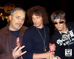 Didier avec Eric & Titi.