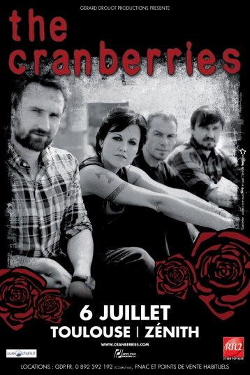 THE CRANBERRIES TOULOUSE