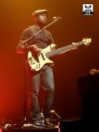 Un bassiste statique...