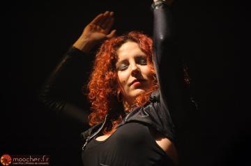 Marcela Bovio, découverte de la soirée.