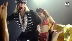 Thomas Vikström dans un segment particulier du concert.