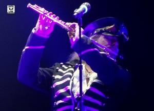 Thomas Vikström à la flute...