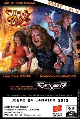 Un super concert de hard rock avec la découverte du Hellfest 2011!