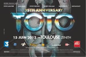 L'affiche du concert évènement.