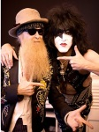 BILLY GIBBONS & PAUL STANLEY at the HELLFEST - Credit Kissonline -