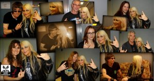 DORO After show, after interview with JATA Team & friends...