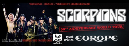 CONCOURS SCORPIONS TOULOUSE