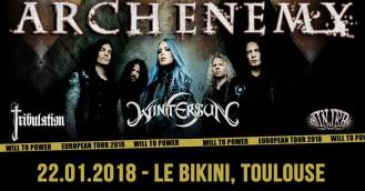 ARCH ENEMY TOULOUSE 2017