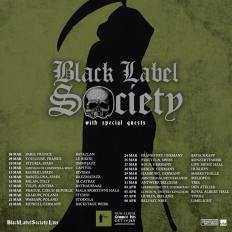 BLACK LABEL SOCIETY Tour 2018