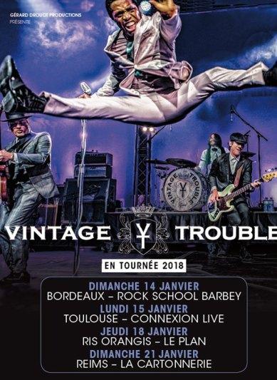 VINTAGE TROUBLE Toulouse 2018
