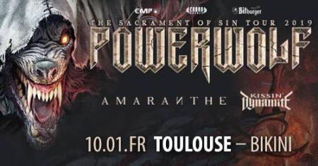 POWERWOLF TOULOUSE 2019