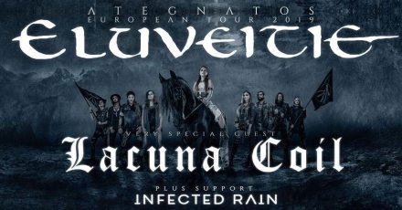 LACUNA COIL ELUVEITIE TOULOUSE 2019